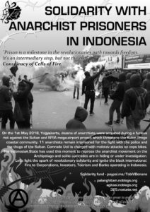 Solidarity with Anarchist Prisoners in Indonesia
